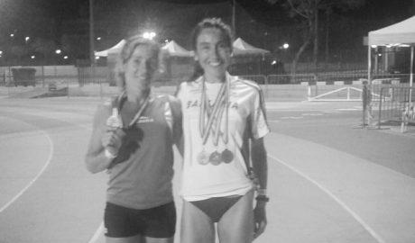 Lili Riva aconsegueix l'or nacional en el 4x100 relleus