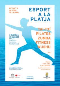 Actividades deportivas gratuitas en la playa. 'Esport a la Platja' -Dénia- @ Playa de la Marineta Cassiana y Punta del Rasset, Dénia