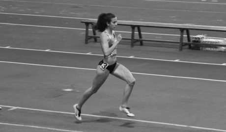 Aina Fornés, campiona autonòmica en 400 metres tanques