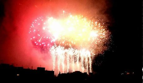 [LA FOTO] Fi a la festa del foc a Xàbia