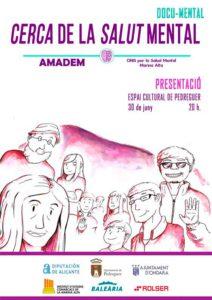 Presentación del documental 'Cerca de la salud mental' realizado por AMADEM -Pedreguer- @ Espai Cultural de Pedreguer