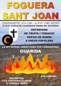 Fogueres de Sant Joan -Els Poblets- @ platja de l'Almadrava, Els Poblets
