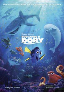 Cine a la Mar: 'Buscando a Dory' Dir.: A. Stanton y A. MacLane -Calp- @ Playa de la Fossa, Calp