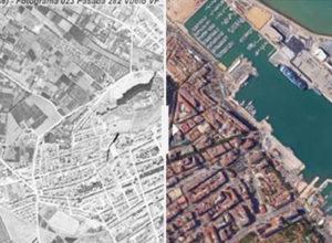 La radical transformación de la Marina Alta a vista de pájaro en 72 años (1945-2017)