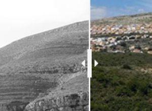 La radical transformación de la Cumbre del Sol y el Puig de la Llorença en 44 años