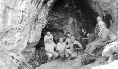 Un experto mundial en arte prehistórico califica de «excepcionales» las pinturas de la Cova del Comte de Pedreguer