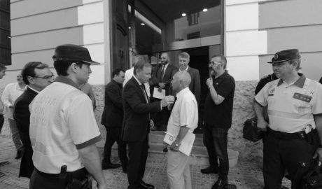 Cumbre de alcaldes y DGT para reforzar la seguridad en la N-332 tras los últimos accidentes y atropellos de ciclistas