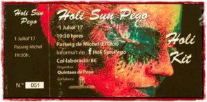 Fiesta Holi Sun -Pego- @ Passeig de Miche, Pego