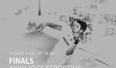 El trinquet d'Ondara acull este dissabte les finals autonòmiques de raspall individual