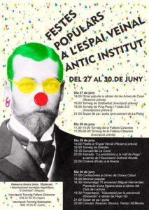 Festes Populars a l'Espai Veïnal Antic Institut -Pego- @ Antic Institut, Pego