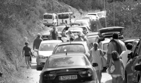 Xàbia restringe el accesso en coche a la Granadella