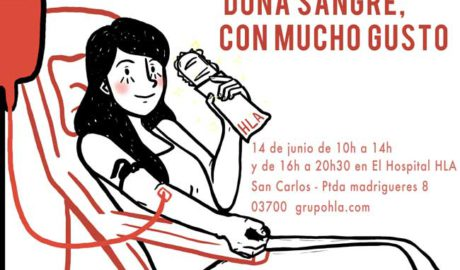 Maratón 'Dona sangre con mucho gusto' en HLA San Carlos de Dénia