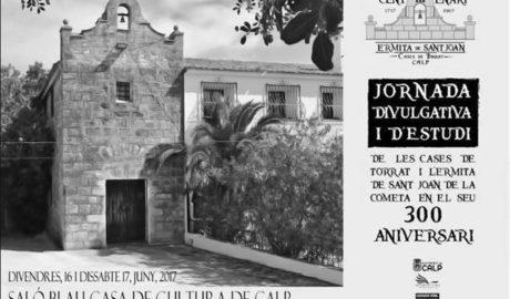 El veto de la edil de Cultura de Calp a una asociación fuerza a suspender el tricentenario de la ermita de Sant Joan