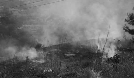 Benissa torna a exigir l'obertura del subparc de Bombers després d'un incendi en el Fantatxat