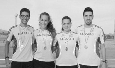 Miquel Piera, Oscar Fornés y Emma Fornés ganan el provincial junior de 800 metros lisos