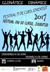 'Festival Fi de Curs, Joventut' -Dénia- @ Carrer La Via, Dénia