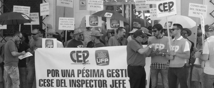 Unos 50 policías nacionales exigen en Dénia la dimisión de su jefe «porque es el peor de la historia»