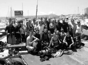 El Club Náutico Jávea y el Club Buceo Pelicar organizan una jornada de limpieza de los fondos marinos del puerto