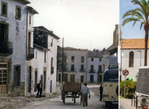 Estampas de la Marina: la Placeta del Convent de Xàbia, de 1957 a 2017