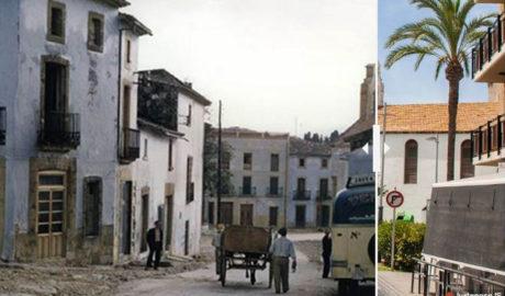 Estampes de la Marina: la Placeta del Convent de Xàbia, del 1957 al 2017