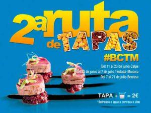 2ª Ruta de Tapas #BCTM -Teulada Moraira- @ Teulada Moraira