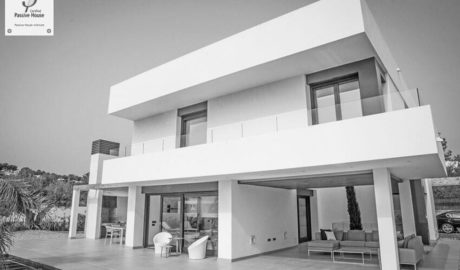 Teulada-Moraira cuenta con la primera vivienda «que respira» de la Comunitat