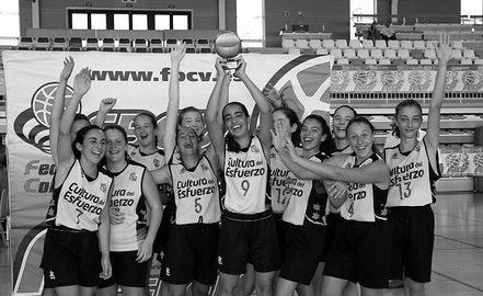 Dos equips del planter del Dénia Bàsquet es proclamen campions del Trofeu Federació