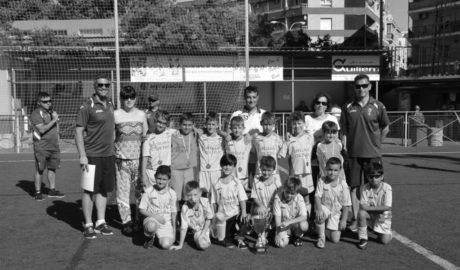 El prebenjamín de Dénia le gana al del Valencia CF y se proclama campeón del Memorial Juan Villalba