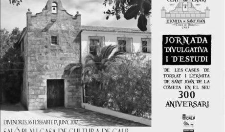 Calp celebra los 300 años de la ermita de Sant Joan y les Cases de Torrat
