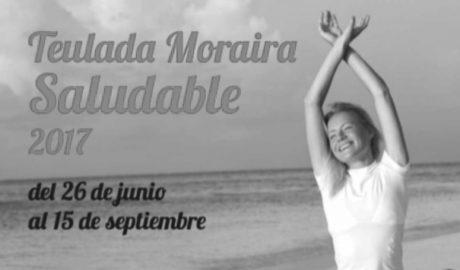 Ja està en marxa la iniciativa 'Teulada-Moraira Saludable' amb un ampli programa d'activitats en la platja