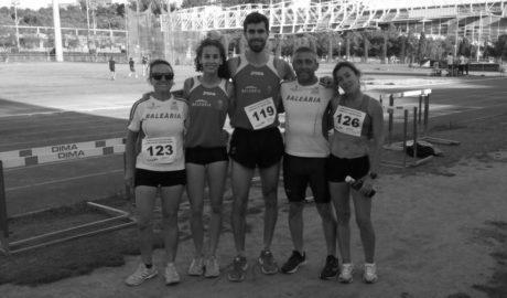 José Lozano y Sebastián Moratalla, oro en sus disciplinas en el autonómico veterano de atletismo