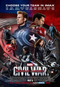 Cine a Vora Mar: 'Capitán América Civil War' Dir.: Anthony Russo i Joe Russo -Xàbia- @ playa del Arenal de Xàbia