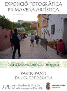 Exposició fotogràfica del taller de fotografia de la Primavera Artística -Orba- @ Casa la Senyoria