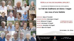 Presentació del documental 'La Vall de Gallinera en Blanc i Negre. Les Veus d'una Història' -Benissili- @ Benissili, Vall de Gallinera