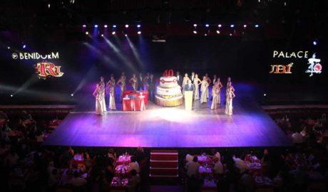 El Benidorm Palace celebra su 40 Aniversario en una gala muy especial