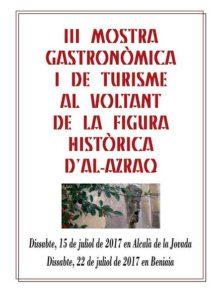 III Mostra Gastronòmica i de Turisme al voltant d'Al-Azraq -Beniaia- @ Beniaia, Vall d'Alcalà
