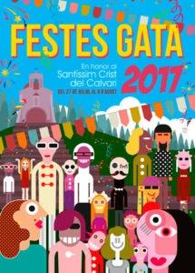 Programa de les Festes de Gata de Gorgos 2017 @ Gata de Gorgos