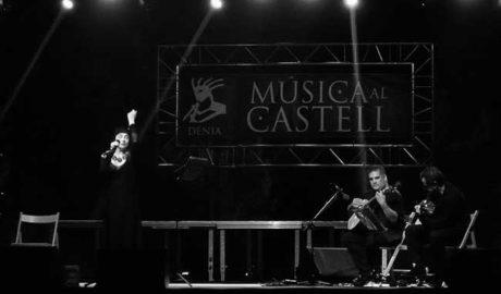 Casi 5.000 espectadores disfrutan del Festival Música al Castell de Dénia