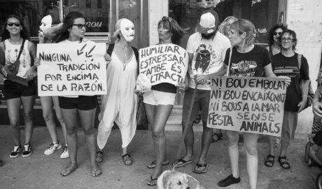 Suspendida la manifestación antitaurina en Dénia por falta de permiso