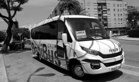 Adiós al autobús de Dénia al Montgó