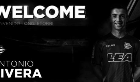L'Alabès fitxa Sivera que s'acomiada amb una emotiva carta del València CF