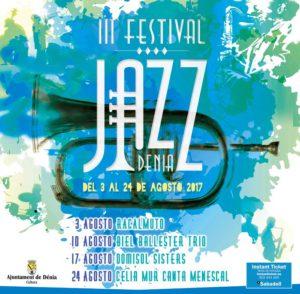 III Festival de Jazz de Dénia: actuaciones en el centro urbano de Dénia Swing Serenades @ Dénia