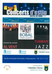 Concerts al Castell de Forna: Quintet de Metalls Al Vent -L'Atzúbia- @ Castell de Forna, L'Atzúbia