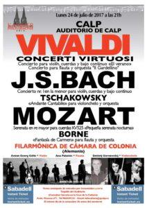 Concierto de la Orquesta de Cámara Filarmonía de Colonia -Calp- @ Auditorio de Calp