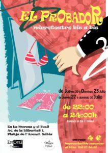 Microteatro Bis a Bis: 'El Probador' por Eseoese Teatro -Xàbia- @ La Morena y El Fusil | Platja de l'Arenal | Comunidad Valenciana | España