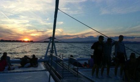 """Ganador del sorteo de un viaje en el catamarán de Mundo Marino Dénia en la excursión """"Puesta de Sol"""""""