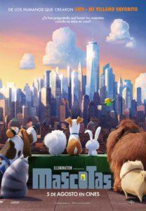 """Cine Vora Mar: """"Mascotas"""" Dir.: Chris Renaud, Yarrow Cheney -Dénia- @ Playa Punta del Raset"""