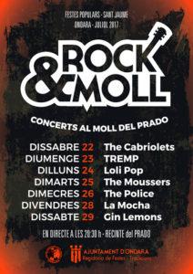 Rock & Moll: Concert de Loli Pop -Ondara- @ MOll del Prado, Ondara