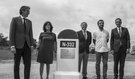 El Gobierno se compromete a adelantar las obras de la variante de Benissa para acabarlas en 2019