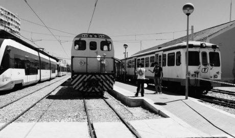 [FOTOGALERÍA] Los trenes que sí llegaron a Dénia durante 30 años, todos juntos